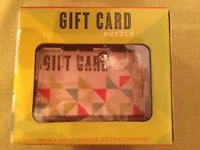 gift card puzzle gift card maze ebay