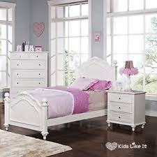 Single Girls Bed by White French Provincial Timber Girls Bedroom Set Hard Wood Bed