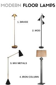 modern floor lamps modern floor lamp style lamps plus