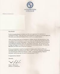 How Does College Acceptance Letter Look Like College Acceptance Letters Write My Custom Paper
