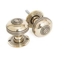 Brass Door Handles Door Knobs From The Anvil Prestbury Mortice Rim Door Knob