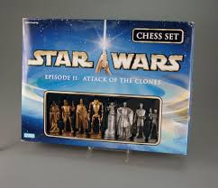107 2114 star wars episode 11 the attack of the clones chess set