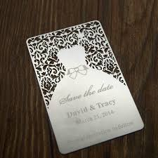 invitation printing services laser cut metal wedding invitation card sided printed