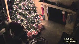 santa claus caught on video real proof he exists youtube