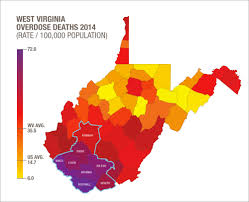 A Map Of West Virginia by New Project Aims To Prevent Opioid Related Hiv Hcv Outbreaks In