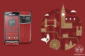 vertu bentley red vertu signature touch prosperity 2017 limited edition phone
