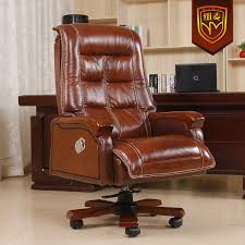 Best Leather Desk Chair Real Leather Office Chair Silo Christmas Tree Farm