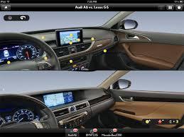 audi a6 or lexus gs 350 lexus releases gs tour with app lexus enthusiast