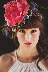 floral accessories boho bridal fabulous floral crowns and bouquets junebug weddings