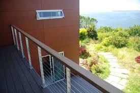flat roof deck railing aurora roofing contractors