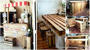 Pallet Furniture Bar 87 Epic Pallet Bar Ideas To Embrace For Your Event Homesthetics
