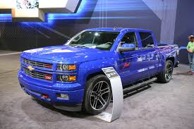 custom 2014 chevrolet silverado and gmc sierra trucks at sema 2013