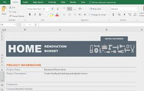 Kitchen Remodel Schedule Template by Made With Microsoft Office 365