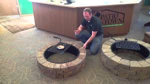 Backyard Fire Pit Lowes by Best Outdoor Fire Pit Kits Stacked Stone Lowesgas Diy Tulsafire