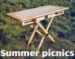 Folding Wood Picnic Table Plans by Folding Picnic Table Plans U2022 Woodarchivist