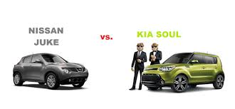 nissan crossover juke 2015 nissan juke compared to kia soul best small crossover