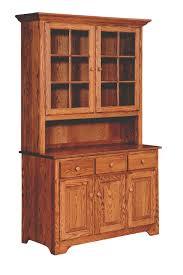 amish shaker 3 door buffet with hutch u2014 sam u0027s wood furniture