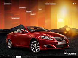 lexus is website lexus by amy ellman at coroflot com