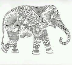 free elephant mandala coloring pages coloring