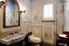 French Powder Room Irresistibly Charming French Country Style Interiors