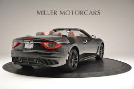 2016 maserati granturismo rear 2016 maserati granturismo convertible mc stock m1458 for sale