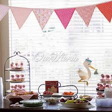 Bunting Flags Wedding 10pieces Lot Multicolor Handmade 2 4m 12flags Bunting Double Side