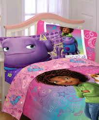 girls pink and purple bedding dreamworks home bff forever twin sheet set