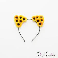 sunflower headband best coachella flower headbands products on wanelo