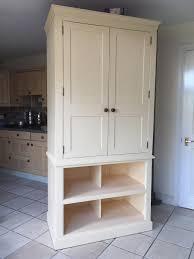 impressive pine country style kitchen dresser larder unit 600