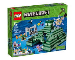 minecraft jeep wrangler minecraft the ocean monument 21136 building kit 1122 piece by