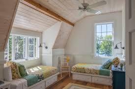 revetement plafond chambre design interieur deco plafond chambre enfant revetement bois lits