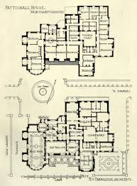 plan of pattishall house northamptonshire just my holiday house