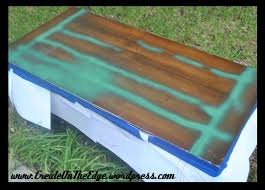 Painting Coffee Tables Car Table Create On The Edge