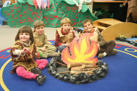 thanksgiving story corvallis kindergarten students present