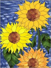 Flower Glass Design 218 Best Stained Glass Designs Images On Pinterest Mosaics
