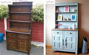fashioned kitchen hutch before after best of cabinets and hutches design sponge
