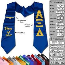 personalized graduation stoles custom printed graduation stole cad something
