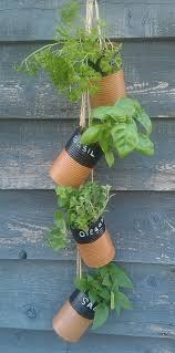 Diy Vertical Herb Garden 20 Amazing Diy Projects You Can Do With Empty Tin Cans