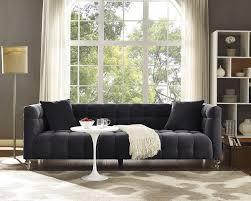 1089 99 cecilia velvet upholstery chesterfield sofa dealepic