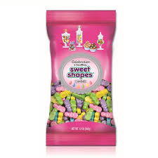 pacifier shaped candy shimmer pacifiers sweet shape peg bag is made by sweetworks and
