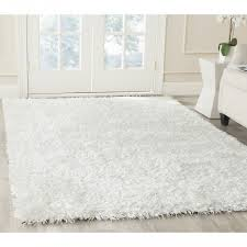 Off White Rug White Shag Area Rug Hand Tufted Silken Off White Shag Area Rugs