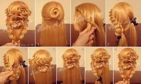 braided hairstyle instructions step by step how to do pretty flower braid hairstyles step by step diy tutorial