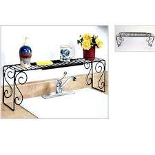 étagère en fer forgé pour cuisine etagère extensible pour dessus lavabo ou évier achat vente