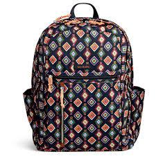vera bradley home decor vera bradley lighten up grand backpack in mini medallions