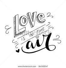 wedding quotes black and white black white air lettering stock vector 364500047