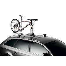 Bike Fork Mount Walmart by Bikes Thule Sidearm 594xt Bike Fork Mount Diy Roof Mount Bike