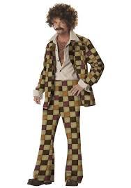 70s leisure suit disco costume men u0027s 70s disco halloween costumes