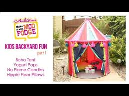 Kids Backyard Fun Kids Backyard Fun Diy Ikea Hack Boho Tent Youtube