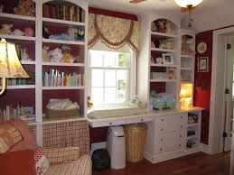 Built In Bookshelves With Window Seat Decorating The Ville A Little And A Window Seat