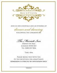 after wedding party invitation wording futureclim info